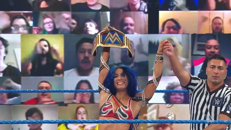 WWE SmackDown Women's Championship Match: Did Sasha Banks defend her title?