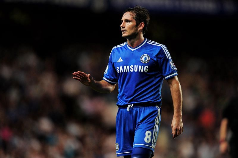 Frank Lampard during his Chelsea playing days