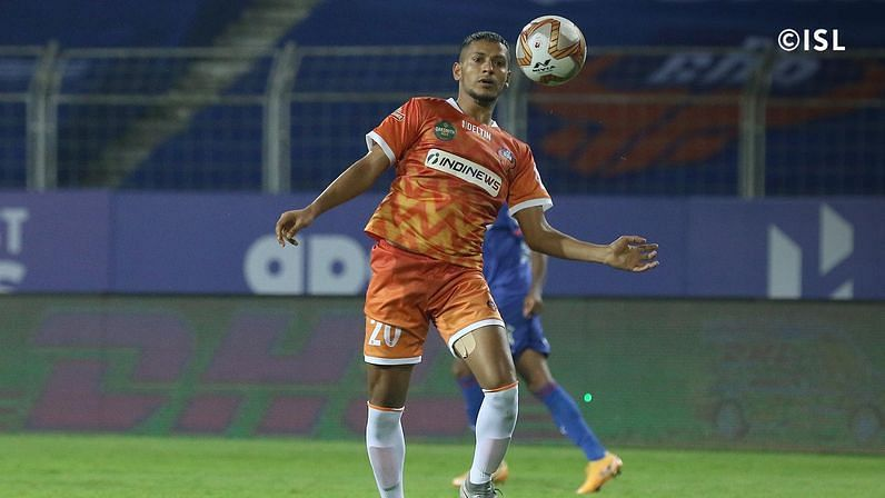 Seriton Fernandes provided FC Goa with an attacking option down the right flank (Credits: ISL)