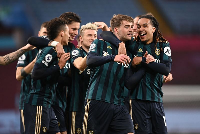 Leeds United face Crystal Palace in the  Premier League on Sa