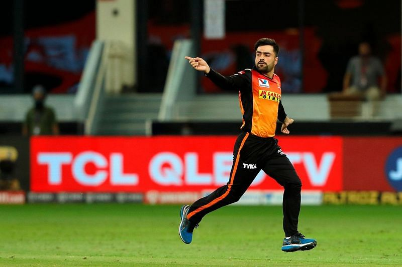 Rashid Khan was the highest wicket-taker for Sunrisers Hyderabad in IPL 2020 [P/C: iplt20.com]