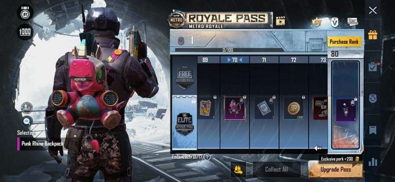 RP 70 - Reward