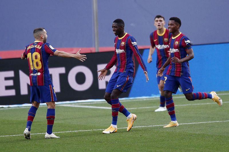 Ousmane Dembele is back for Barcelona