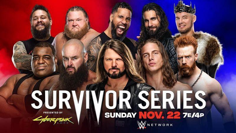 WWE Survivor Series में इस साल दो एलिमिनेशन मैच होने वाले हैं