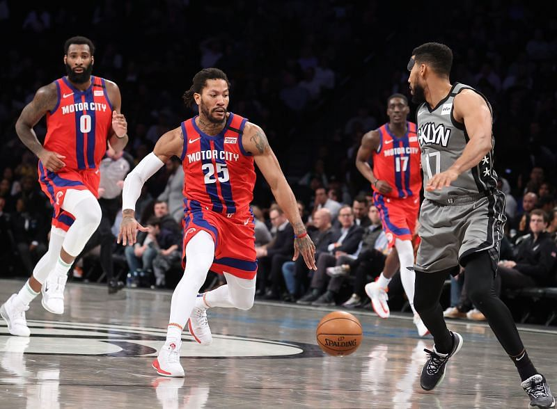 Detroit Pistons vs Brooklyn Nets