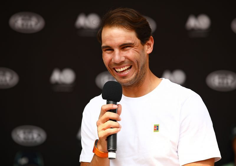Rafael Nadal has always lent a hand to those in need