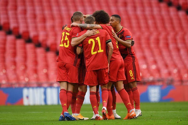 Belgium face Switzerland on Wednesday
