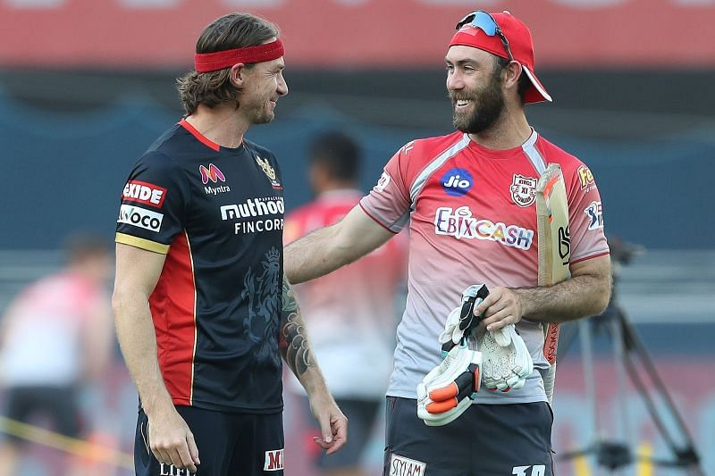 National and international foes, Steyn and Maxwell may both miss out next year. [PC: iplt20.com]