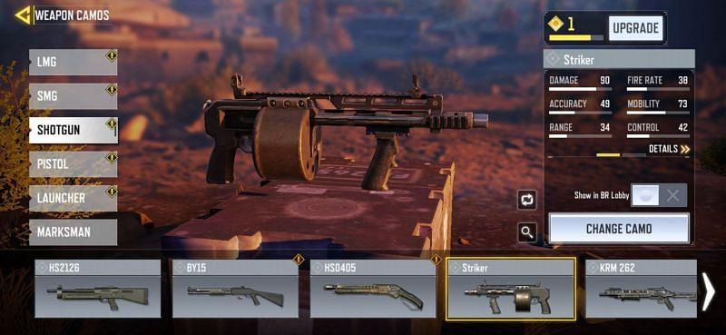 Shotguns in COD Mobile