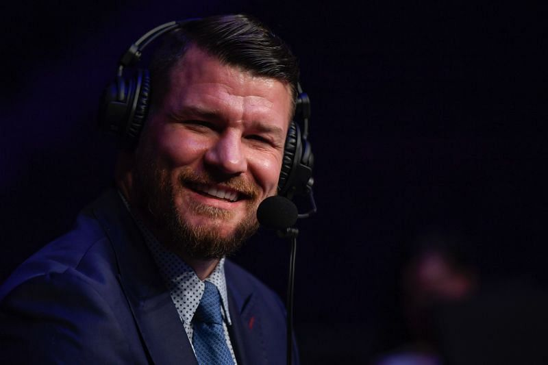 Former UFC middleweight champion Michael Bisping jokes about deserving a knighthood in the UK