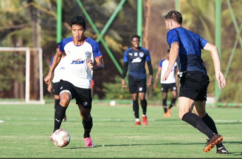 Bengaluru FC plin training