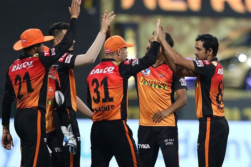The Sunrisers Hyderabad are one step away from the finals of IPL 2020 [P/C: iplt20.com]