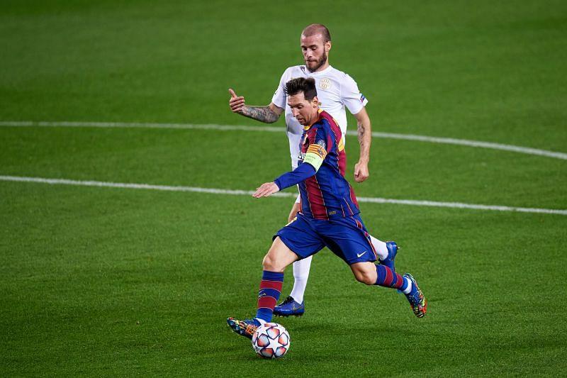 Barcelona take on Ferencvaros this week
