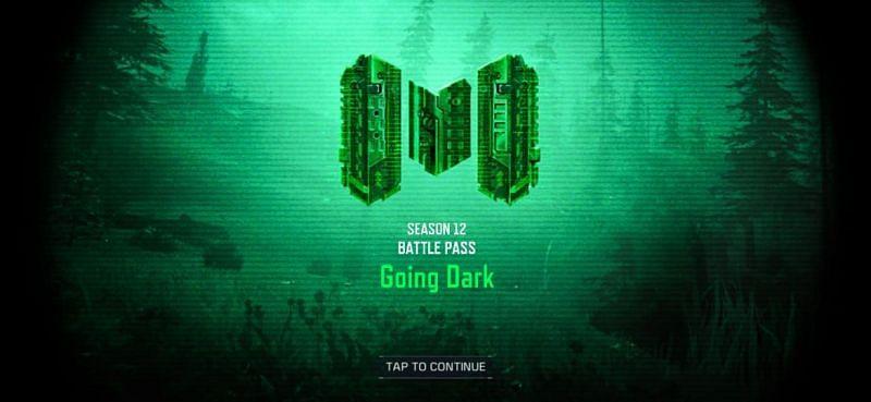 Season 12 Battle Pass in COD Mobile