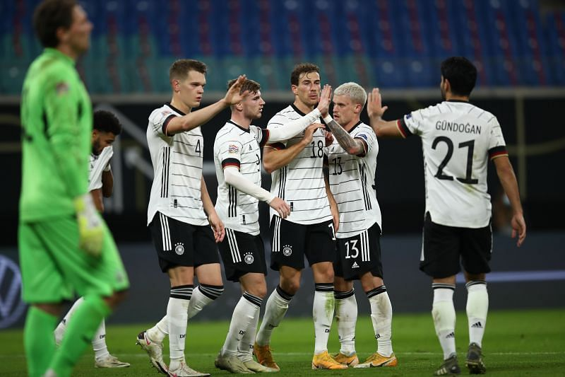 Germany travel to Spain in a UEFA Nations League group decider
