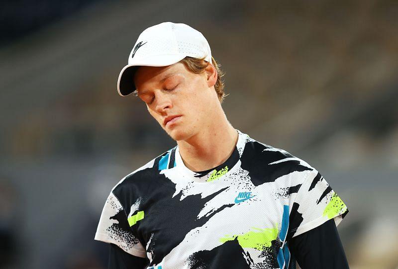 Jannik Sinner has a 14-7 win-loss record since the tour