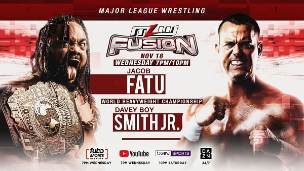 Jacob Fatu vs Davey Boy Smith Jr.