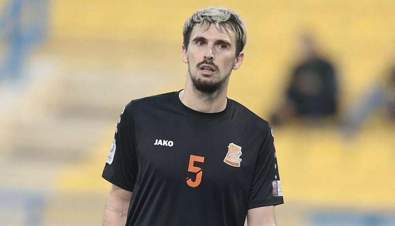 Enes Sipovic played for Qatar Stars League club Umm Salal last season (Image Credits: Twitter)