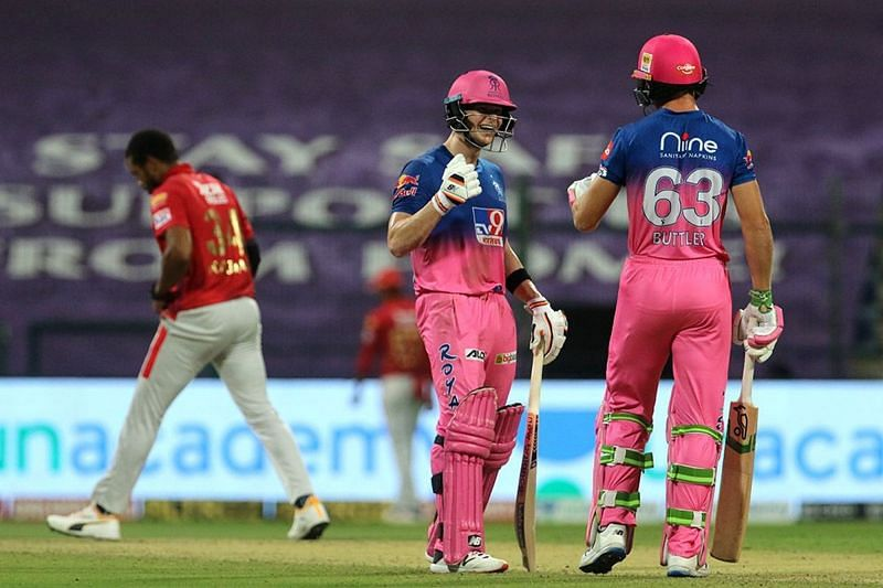 Ben Stokes announced his arrival at IPL 2020 with a century against MI [iplt20.com]