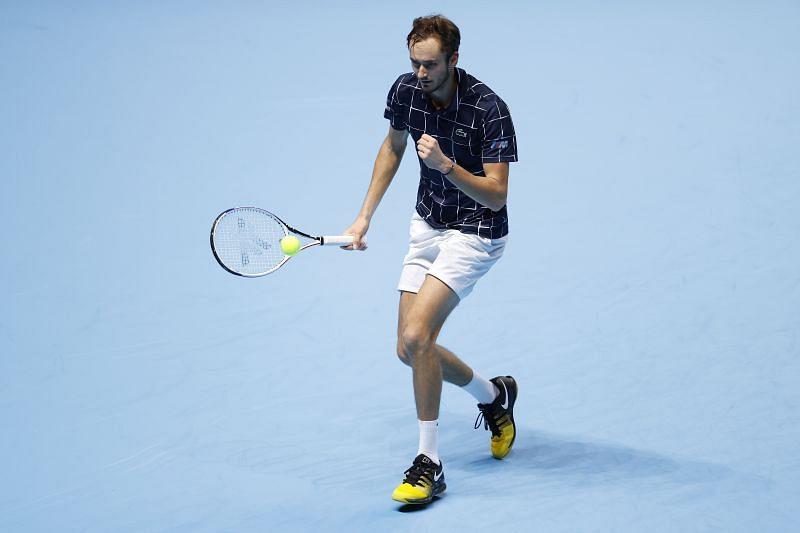 Daniil Medvedev is through to the semis