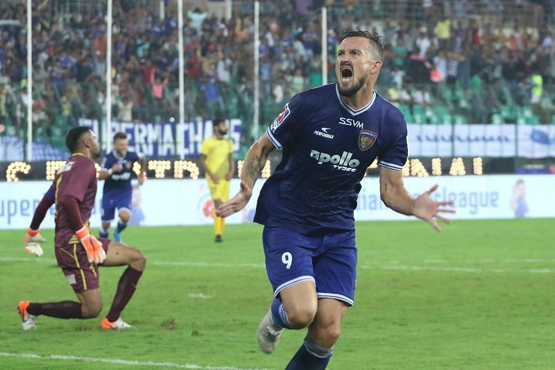 Nerijus Valskis won the Golden Boot award last season as his team Chennaiyin FC ended as runners-up