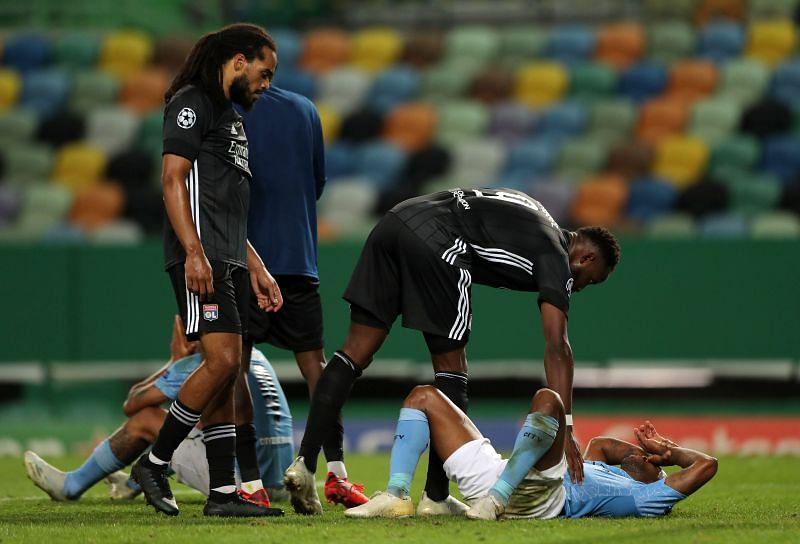 Manchester City vs Lyon - UEFA Champions League Quarter Final