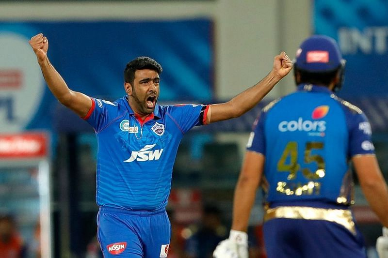 Ashwin had given the Delhi Capitals an early breakthrough by dismissing Rohit Sharma [P/C: iplt20.com]