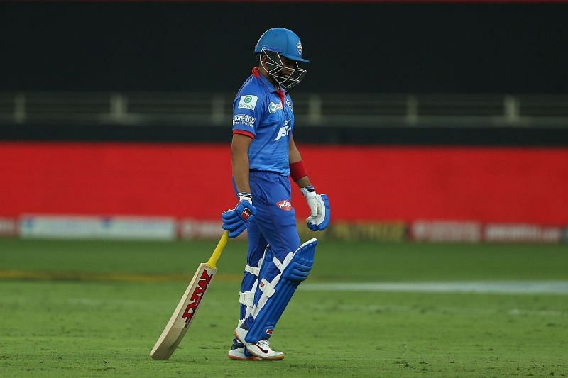 Prithvi Shaw has failed to deliver at the top of the order for the Delhi Capitals [P/C: iplt20.com]