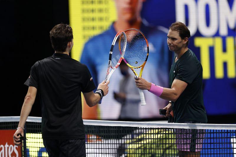 Dominic Thiem beat Rafael Nadal at the 2020 Nitto ATP Finals