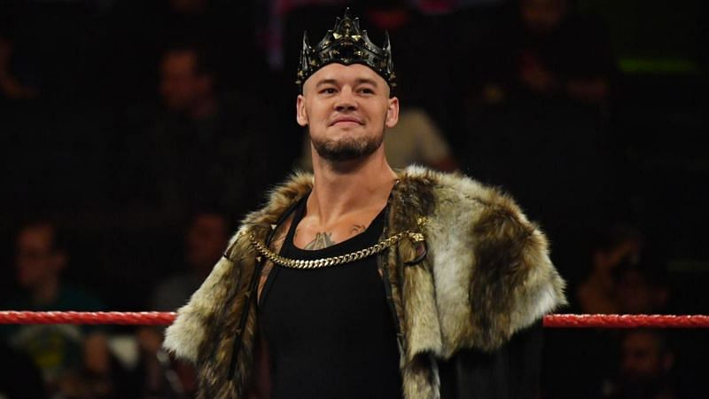 King Corbin also spoke about his WWE aspirations