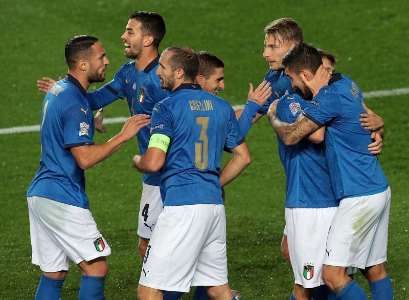 Italy face Poland in a crunch UEFA Nations League clash