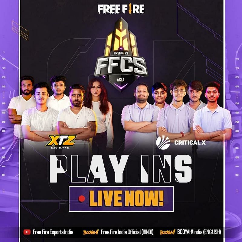 Free Fire Continental series Asia Play INS