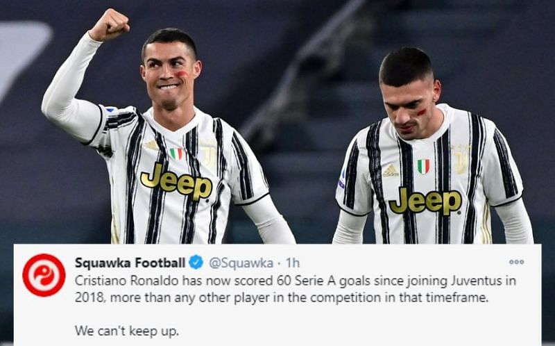 Cristiano Ronaldo is on a roll