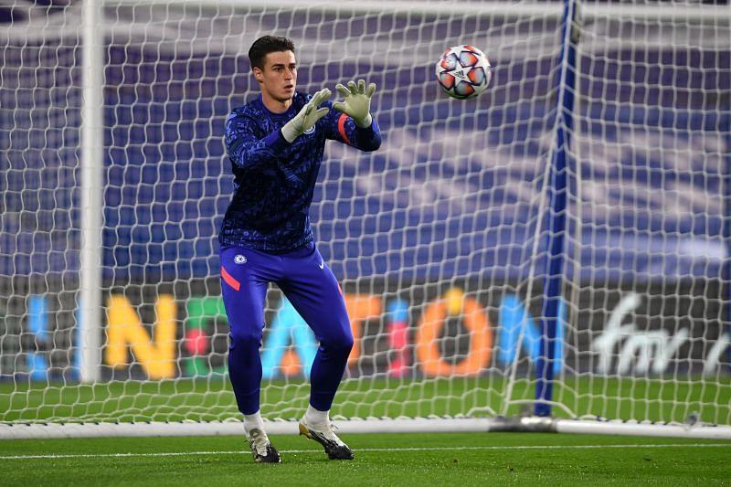 Kepa Arrizabalaga has fallen out of favour at Chelsea.