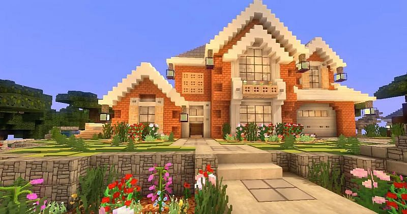 Houses in Minecraft are great for keeping players safe from threats like Creepers and for storing all valuable itemsand equipment (Image via gameskinny.com)