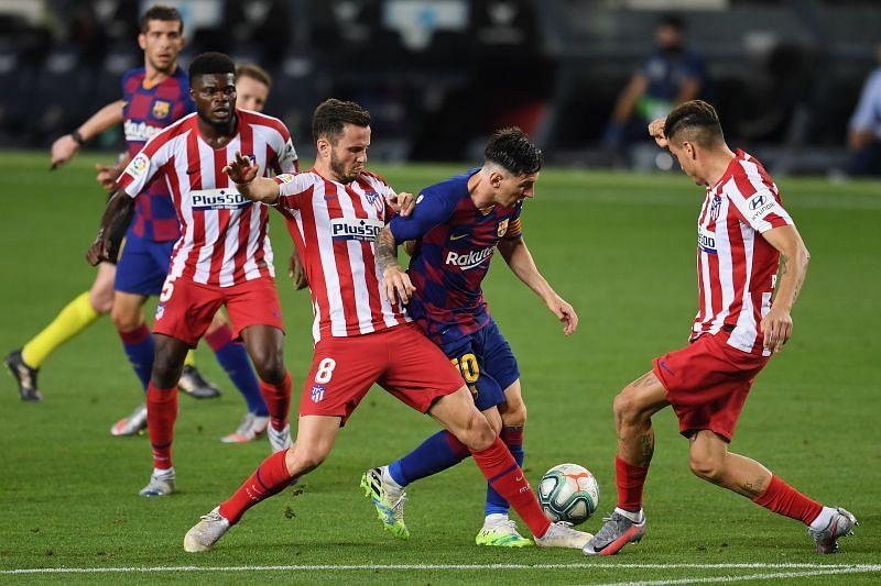 Atletico Madrid take on Barcelona this week