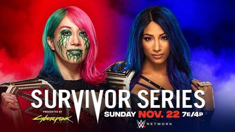 Asuka vs. Sasha Banks