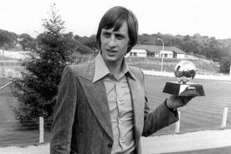 Johan Cruyff was the first player to win three Ballon d