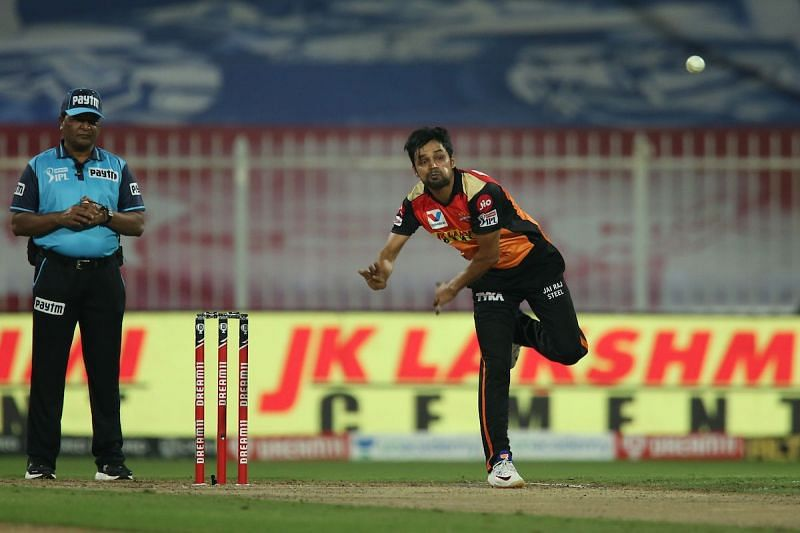 Shahbaz Nadeen bowled a brilliant over to dismiss Suryakumar Yadav and Krunal Pandya.