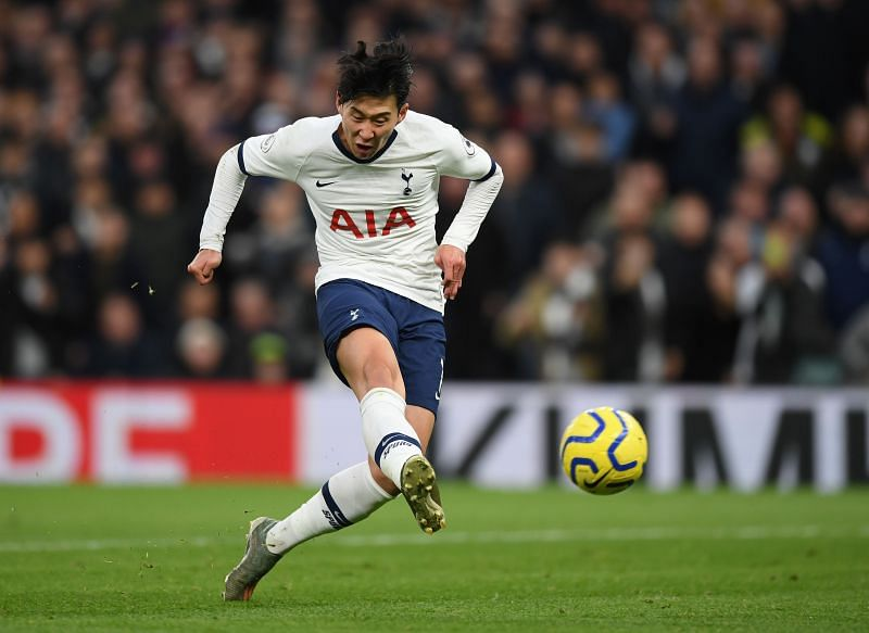 Son Heung-min has been on fire for Tottenham this season.