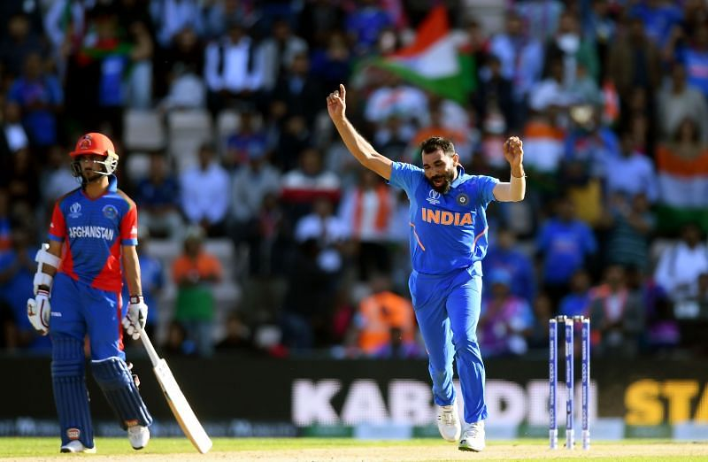 Mohammed Shami picked 14 wickets in 4 games at the 2019 World Cup
