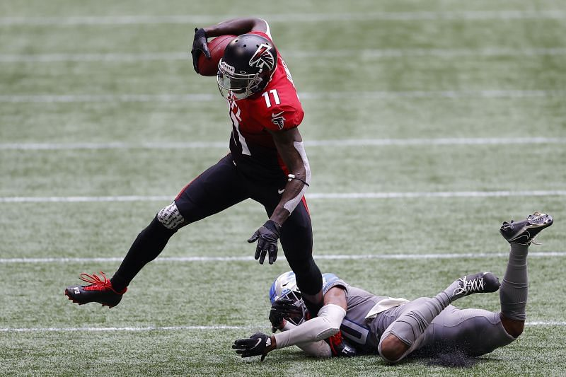 Julio Jones has been an immediate impact player for the Falcons since being drafted.