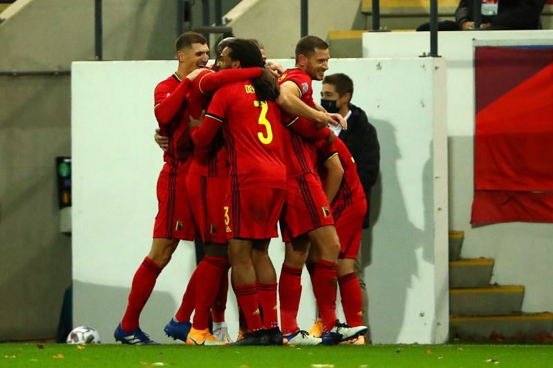 Belgium defeated England 2-0 in Leuven tonight, avenging their defeat in October.