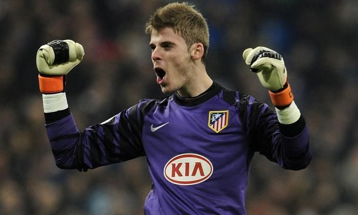 De Gea laid the foundations of his successful career at Atletico Madrid.