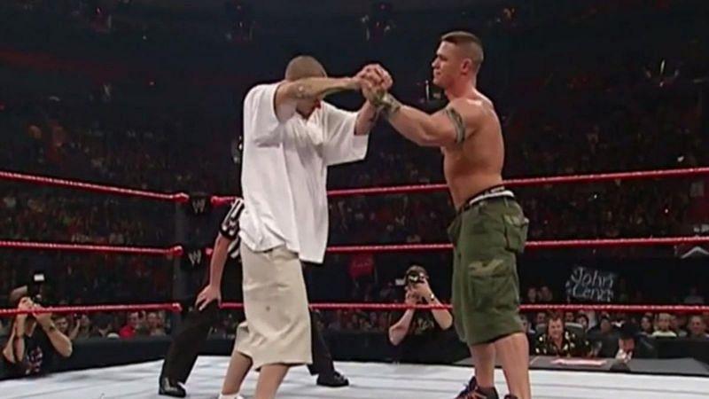 Kevin Federline and John Cena