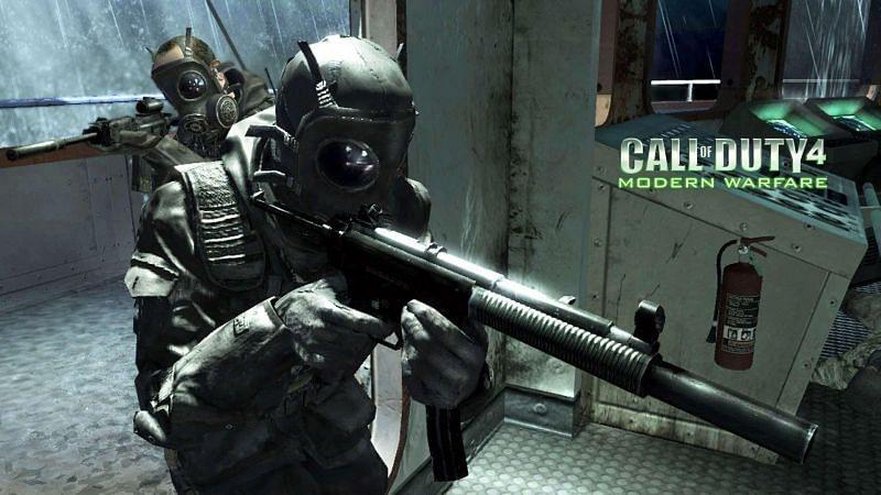 Call of Duty 4: Modern Warfare [Image Credits: Wallpaper Cave]