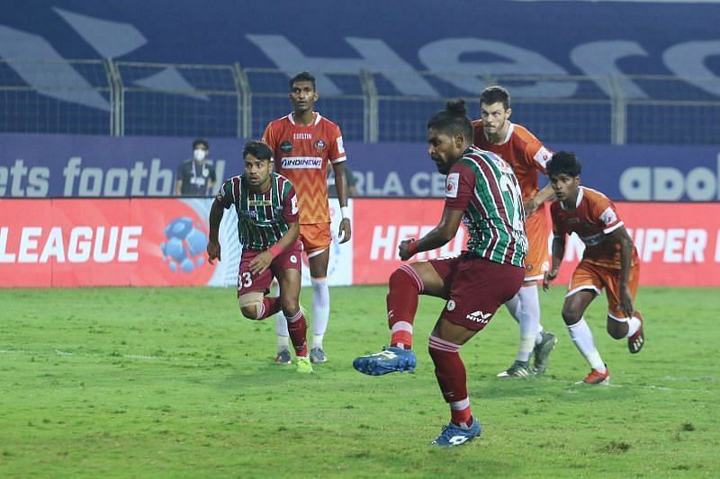 Roy Krishna has been in lethal touch in the ATK Mohun Bagan attack (Courtesy - ISL)