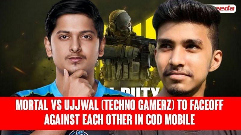 Mortal vs Ujjwal (Techno Gamerz)