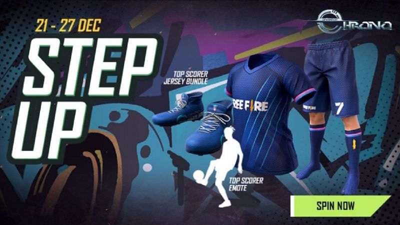 Step Up event (Image via Free Fire)