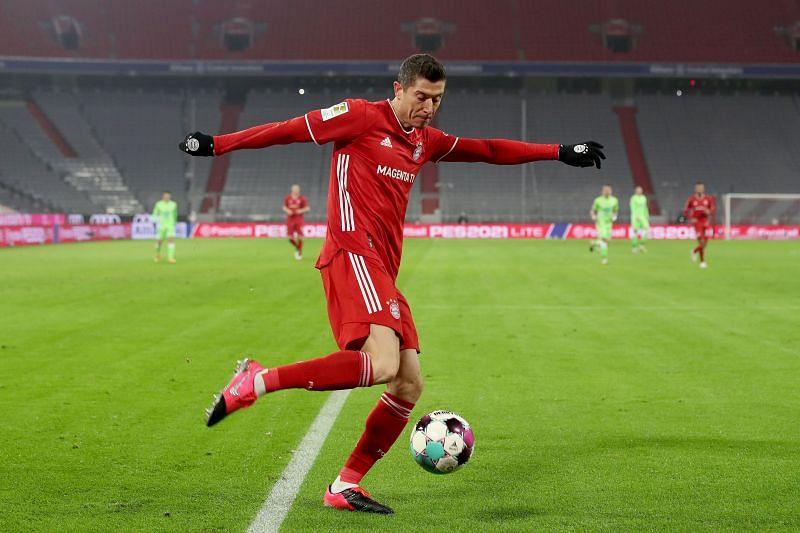 Robert Lewandowski of FC Bayern München